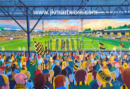 abbey stadium on matchday print